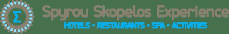 'Best hotels in Skopelos skopelos experience spyrou hotels logo'