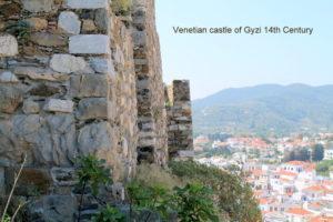 Skopelos Venetian Castle of Gyzi