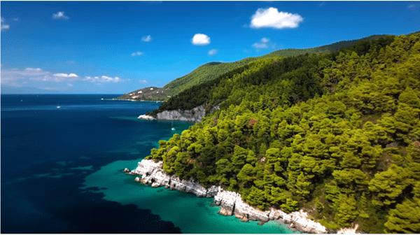 Skopelos Mamma Mia Island by Drone