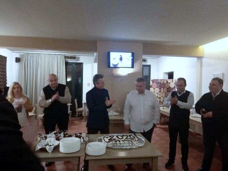 skopelos new year's cake