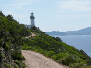 The lighthouse at Skopelos