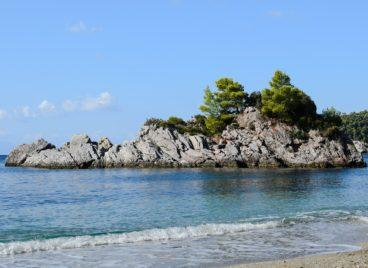 Environmental action for the cleanup Skopelos