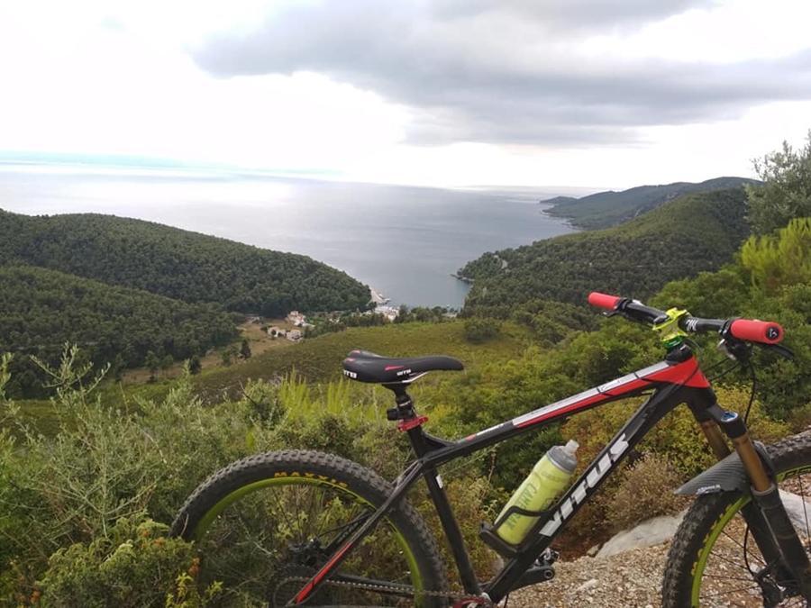 Cycling in Skopelos, Mountain Bike